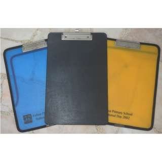 CLIPBOARDS (3 For $2)