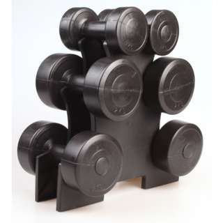 Dumbbell Weight Set 12KG With Storage Rack