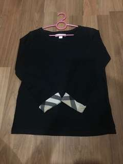 Authentic Burberry Children Long Sleeve Shirt