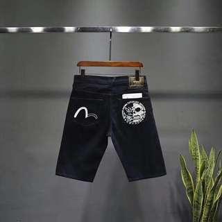 Evisu short jeans