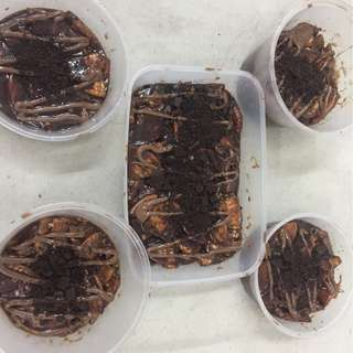 Kek Batik Nutella Oreo