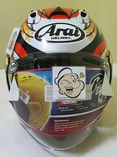 0706***TSR RAM4 NAKAGAMI CONVERT to ARAI Helmet For Sale 😁😁Thanks To All My Buyer Support 🐇🐇 Yamaha, Honda, Suzuki