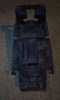 Cb400 rear fender