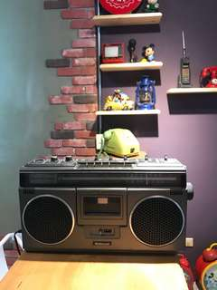 🚚 「早期日製收音機可過電」但收不到台灣訊號+送好禮8選一 早期 古董 復古 懷舊 稀少 有緣 大同寶寶 黑松 沙士