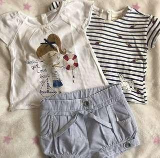 Zara Tshirt & short