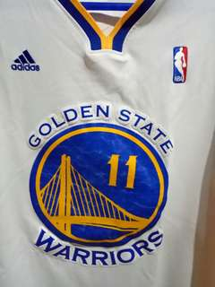 Klay Thompson original jersey with sleeves