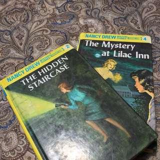 NANCY DREW (2 books)