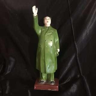 革命瓷  毛主席瓷像