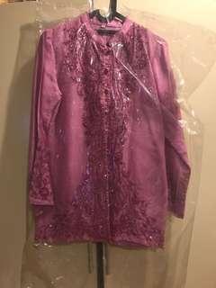 Purple kebaya size M