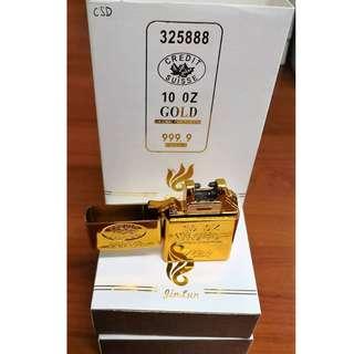 Gold Bar Design-USB Powered Wind Proof Lighter