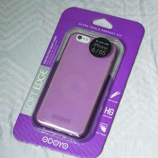 Odoyo iPhone 6/6s Purple Silicone Case