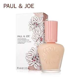 Paul and Joe Moisturizing Fluid Foundation SPF 25 PA++ 30ml