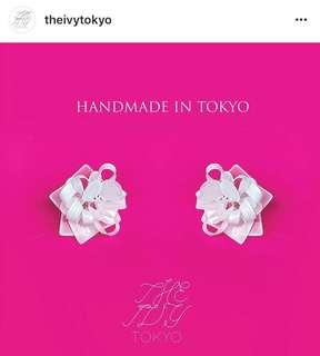 The ivy Tokyo 手工 耳環 針式