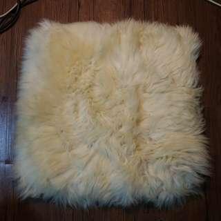 🚚 澳洲 Ausfurs 綿羊毛 長毛 座墊 抱枕套 羊毛毯 皮草 羊毛墊 沙發 靠枕