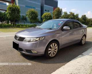 Kia Cerato Forte suitable for Grab & Long term leasing.
