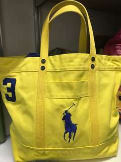 Polo Fabric large bag