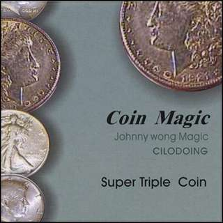Dream Coin Set by Johnny Wong Coin magic coin trick