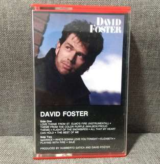 arthcs DAVID FOSTER Love Theme from St Elmo's Fire Cassette Tape
