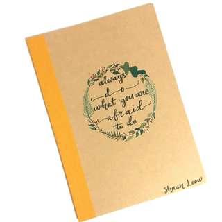 Customisable notebooks