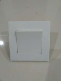 Wall switches white colour 4pc