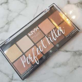 NYX Perfect Filter Eyeshadow Palette - Golden Hour
