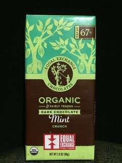 🚚 Equal Exchange 公平貿易有機薄荷巧克力67%