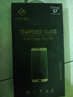 Tempered Glass S7 flat full covered