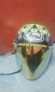 Arai Helmet scott russel free visor titan