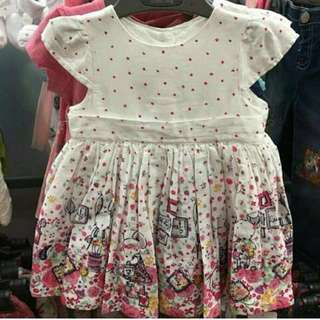 Mothercare Dress Bunny & Mouse
