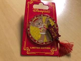 Disney pin 迪士尼徽章 LE500 diffy chinese new year