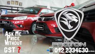 Proton Price WithOut GST❓