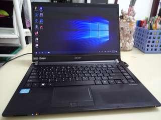 Acer Slim i5/win10/4Gb/320Gb hdd/14.5inch