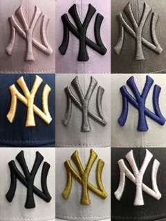 NY cap in 9 colors