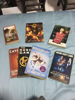 Hunger games story book