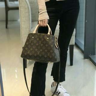 LV Louis Vuitton montaigne mm bag #2bdaysale