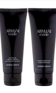 Armani Code body shampoo