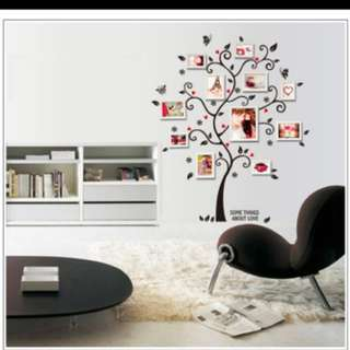 Wall Decal. Not inclusive frame. Inclusive normal postage