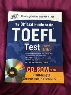 🍁The Official Guide to TOEFL Test