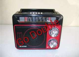 Radio Asatron R-1051 USB Bisa Rekam