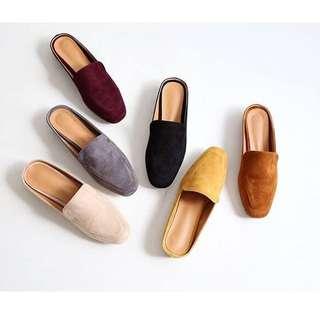 正韓 穆勒鞋 灰 size 40