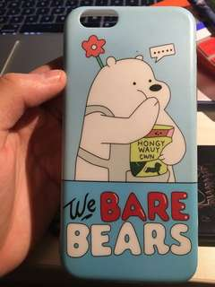 We Bare Bears Iphone 6/6S Case