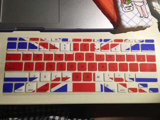 "United Kingdom Flag Macbook Air 11"" Keyboard Sleeve"