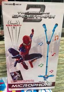 Spiderman Microphone