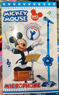 Mickey Mouse Microphone