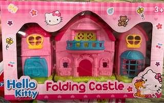 Hello kitty doll house set