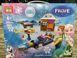 Frozen building blocks