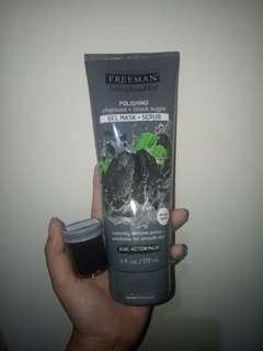 SHARE IN JAR 20gr freeman charcoal+black sugar (gelmask+scrub)