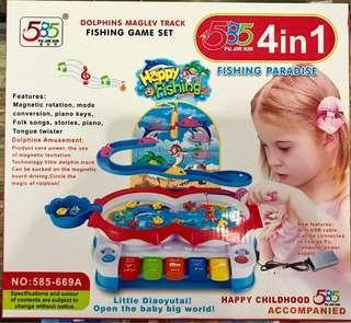 Fishing 4in1 set
