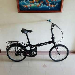 foldable bike/bicycle no brakes