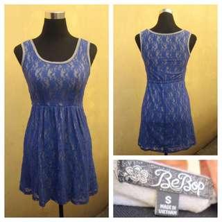 Blue Laced Dress